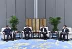 上海市党政代表团来浙考察 携手促进长三角率先发展一体化发展
