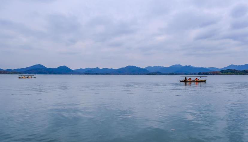 绝美!冬日西湖