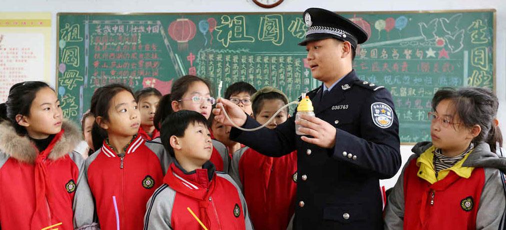 山东枣庄:禁毒宣传进校园