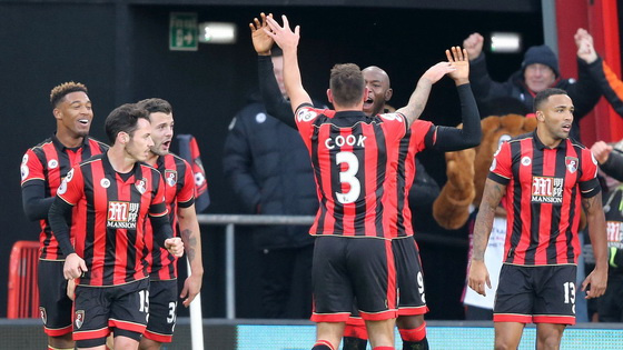 英超-伯恩茅斯4-3逆转 创新历史首胜利物浦