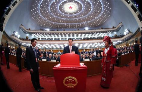 【回放】国家机构领导人选举产生