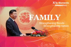 President Xi's view on family