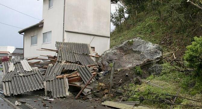 日本6.1级地震