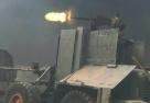 叙利亚战场现自制战车