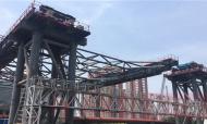 郑北大桥成功跨过92米最大悬臂 创多个国内之最