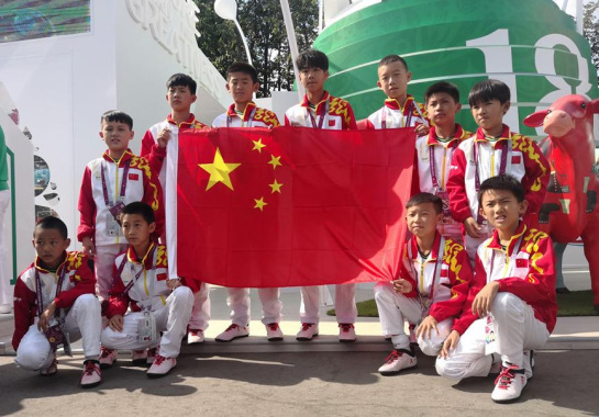 世界杯闪耀中国元素