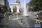 纽约市遭遇持续高温