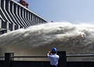 三峡水库持续泄洪