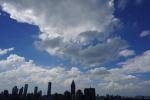 """为啥今日南京天空这么美?气象专家:这是台风""""摩羯""""的福利"""