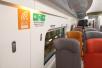 广深港高铁列车内饰曝光 所有车厢实现Wi-Fi全覆盖