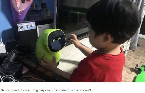"""【中国那些事儿】育儿更轻松!美媒:人工智能悄然改变中国人的""""养娃""""方式"""