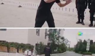 警察教你如何面对持刀歹徒 这个简单动作最管用!
