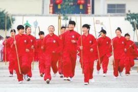 河南温县:开展武术交流 传承中华国粹