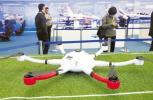 聚焦航空博览会:无人机大荟萃 应用无处不在