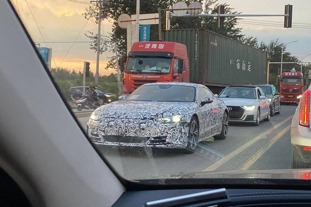 Taycan亲兄弟 奥迪e-tron GT或北京车展发布