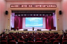第十一届中国(杞县)大蒜节暨大蒜产业发展论坛在杞县举行