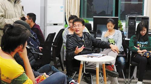 浙传师生展示360度VR技术1