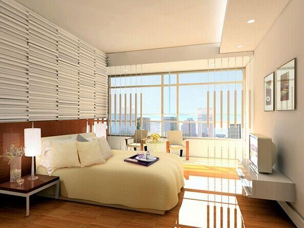现代一居卧室图片大全