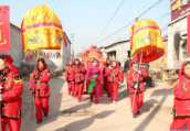 河南内黄:一场古香古色的中式传统婚礼