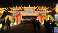 河北吴桥:灯会迎新春 各类造型花灯流光溢彩