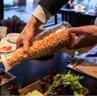 温州麻浦拳头玉米烤肉