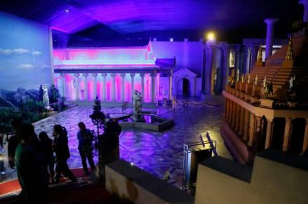 西安/再附送一个世界八大奇迹馆展品:古希腊三美神……