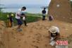 大泥河湾考古新发现 古人类用鸵鸟蛋皮制作装饰品