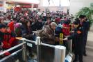 春运大幕开启 沈阳铁路局春运首日预计发送旅客60万人