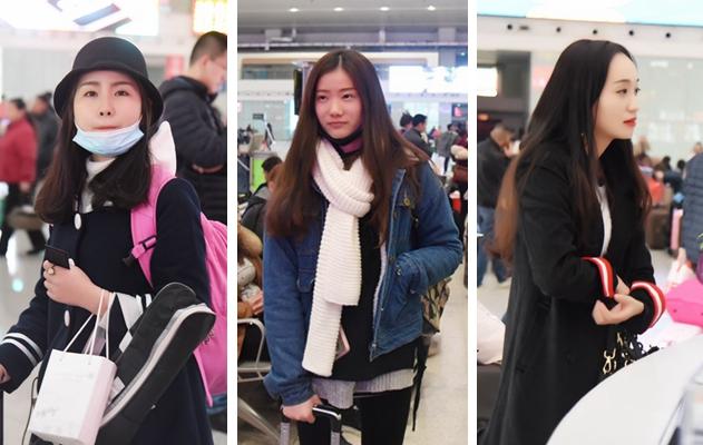 """组图:福州春运颜值""""爆表"""" 归乡途中的他们成为一道风景线"""