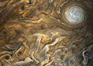 木星表面剧烈暴风雨