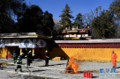 西藏灭火救援演练