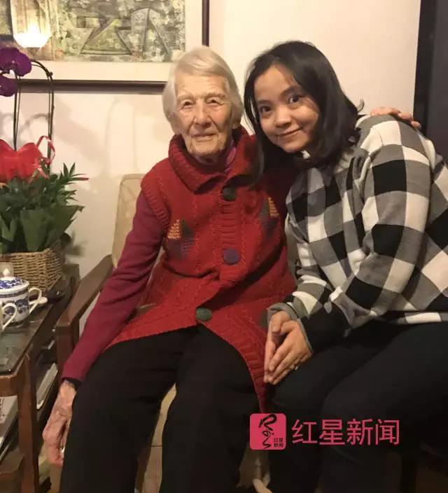 她是曾参与创建北外的加拿大人 102岁照吃椒盐桃酥