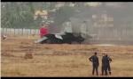 新年印度战机起火烧毁