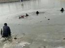 河北小伙三次折返冰窟救出5人 视频刷爆朋友圈