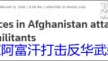 """外媒:美军在阿富汗打击""""东伊运"""" 期待中美合作"""