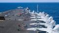 我们忙着过年,美航母忙着在南海给我们发信号!