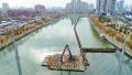 """小清河30公里城区段要""""洗肠"""" 是6年来首次生态清淤"""
