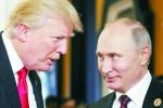外媒:特朗普盼见普京讨论军备问题 称军备竞赛局势失控