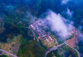 河南信阳:黄柏山的如画春天