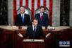 法国总统马克龙在美国国会演讲