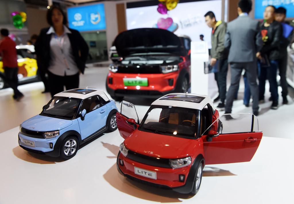 青岛国际车展开幕