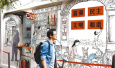 上海——连环画再现老弄堂的真实生活场景