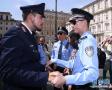 外国街头的中国警察