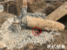 """混凝土桩里面竟是""""黄土芯"""" 南京一工地工人被砸身亡"""