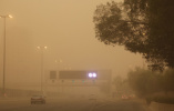 【组图】沙尘暴袭击科威特