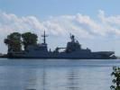俄罗斯海军最大型登陆舰入役 可两栖投放整营陆战队