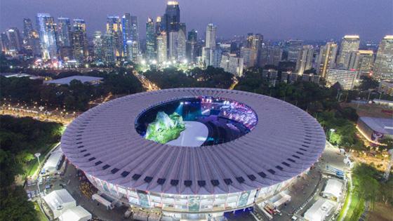 第18届亚洲运动会将于18日在印尼雅加达开幕