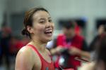 视频|傅园慧现身雅加达亚运会游泳中心 这次小姐姐表情严肃