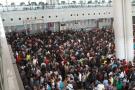 10月1日全天南京铁路共发送旅客超33万人