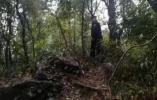杭州警方在莲花峰悬崖落坡找到女子遗体,疑似失联归国留学生
